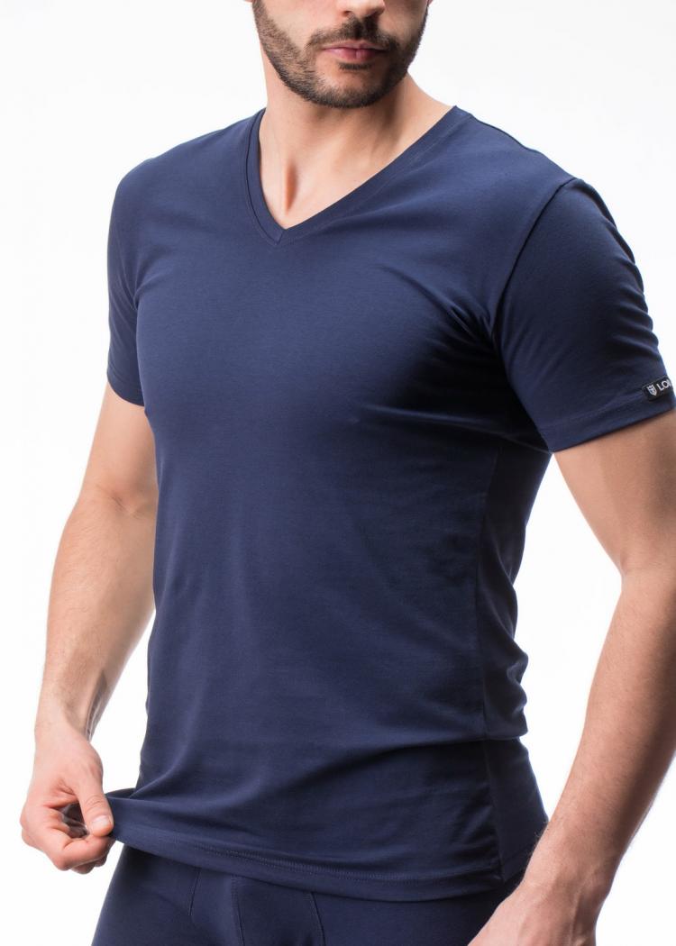 Мъжка тениска с V-образно деколте Lord 292
