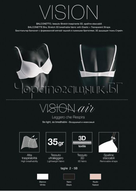 Сутиен втора кожа Lormar Vision