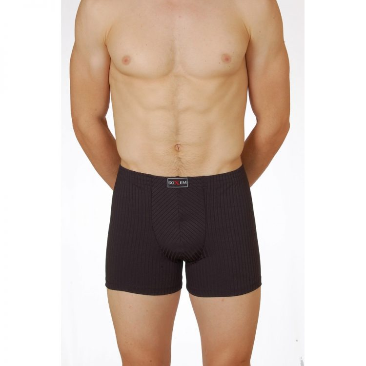 Мъжки боксерки тенсел Бохем 15 черен