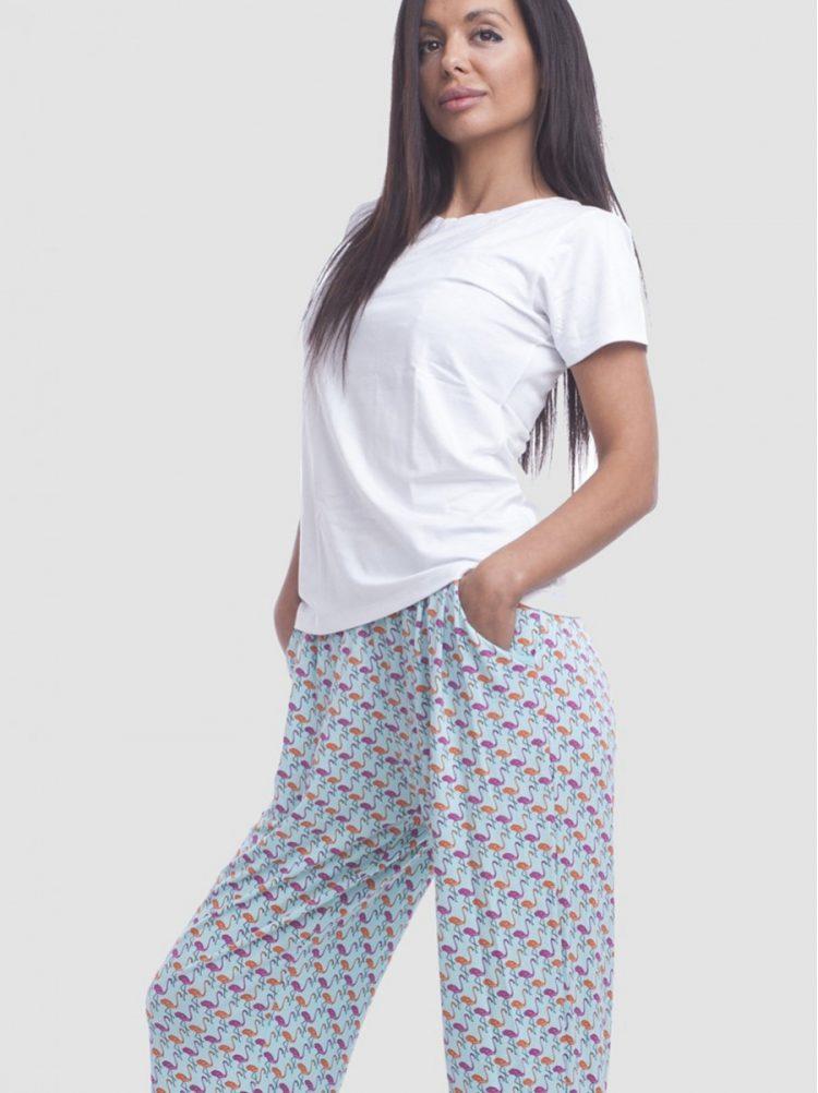 Дамска памучна тениска с къс ръкав New Silhouette 4741