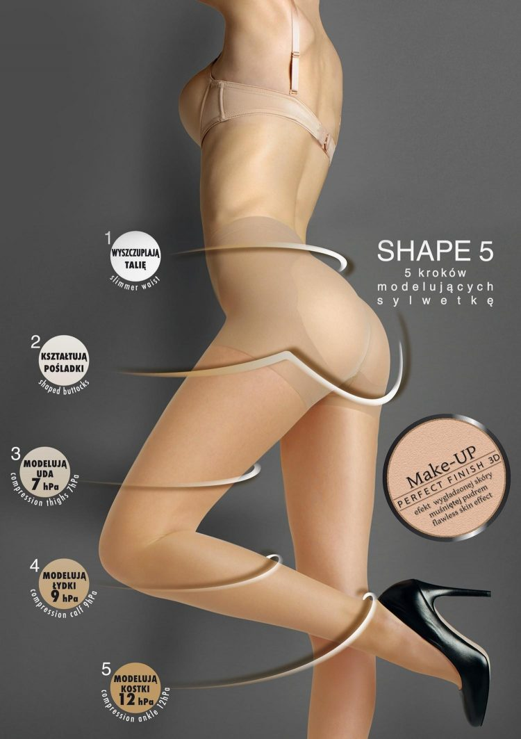 Дамски компресиращ чорапогащник Marilyn Shape 5 Lux Line 30 Den