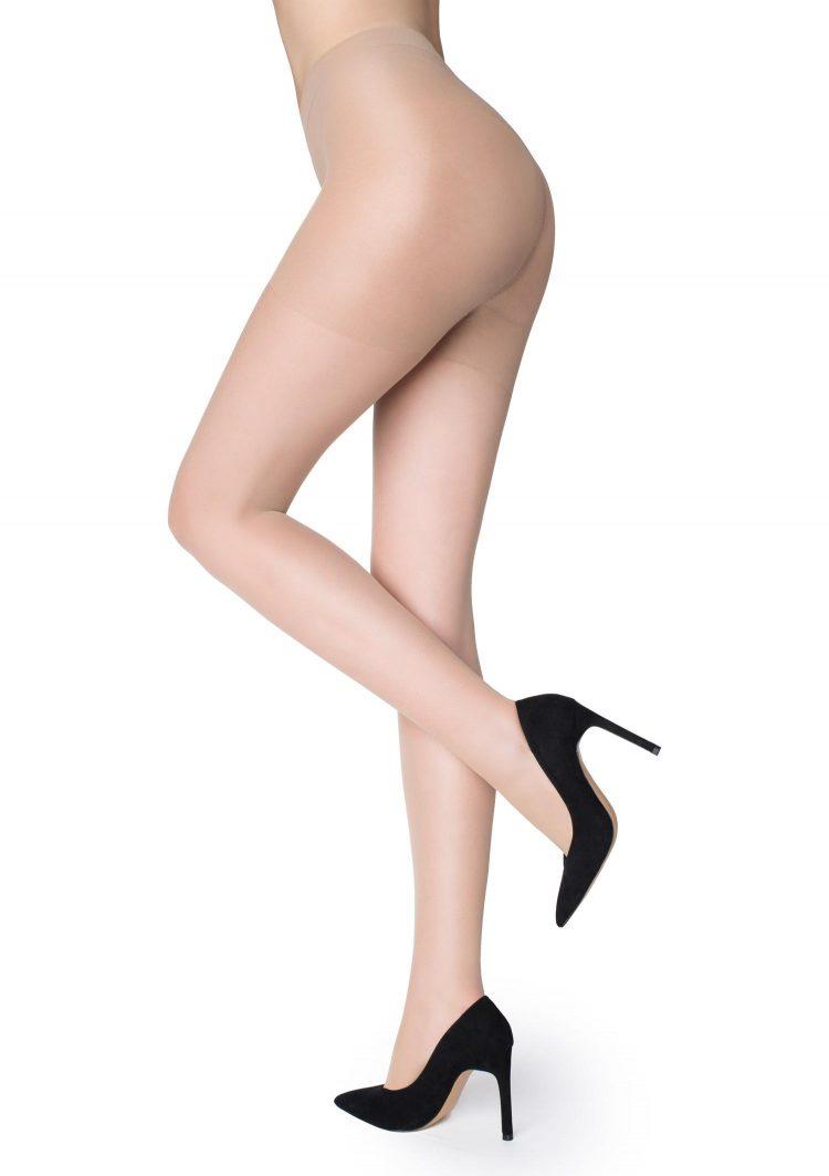 Дамски компресиращ чорапогащник в телесен цвят Marilyn Shape 5 Lux Line 30 Den