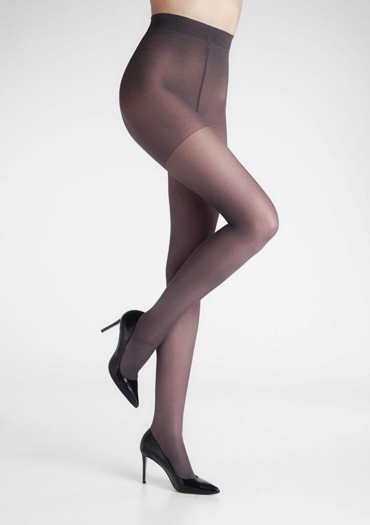 Дамски медицински анти варикозен чорапогащник в светло сив цвят Marilyn Relax 50