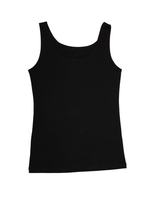 Дамски памучен корсаж с широки презрамки New Silhouette 4711