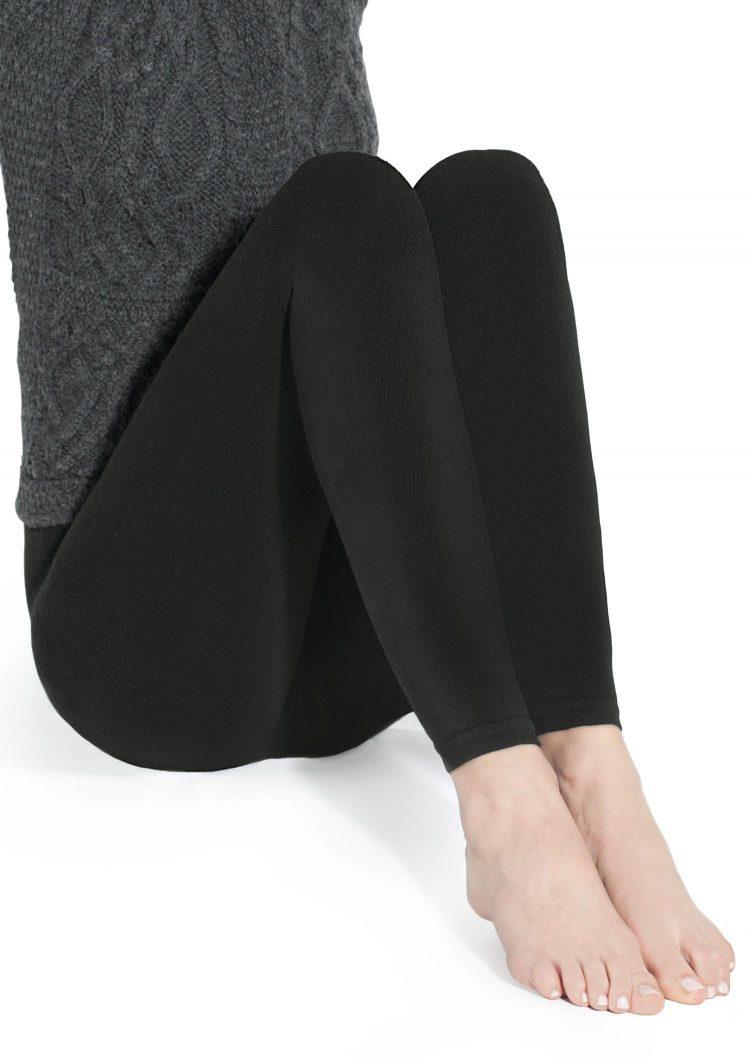 Дамски памучен ватиран клин в черен цвят Marilyn Arctica 250