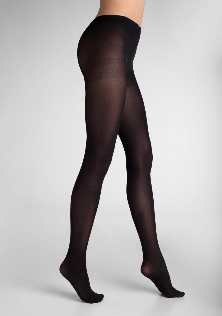 Дамски плътен чорапогащник в черен цвят Marilyn Tonic 40 Den