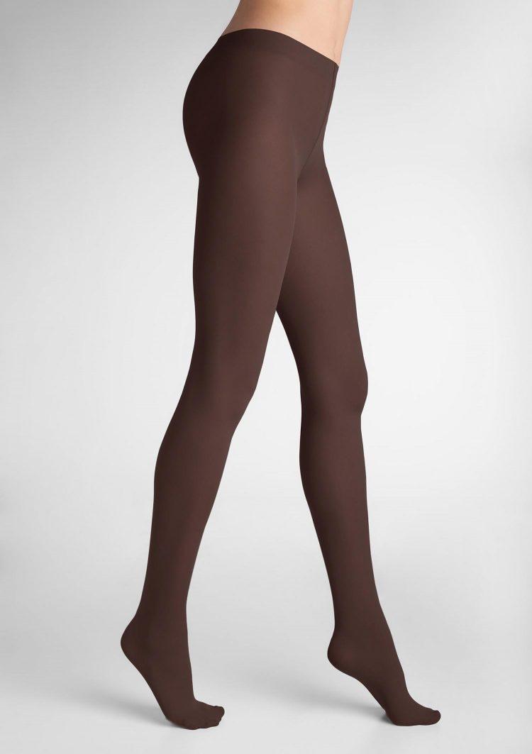Дамски плътен чорапогащник в кафяв цвят Marilyn Tonic 40