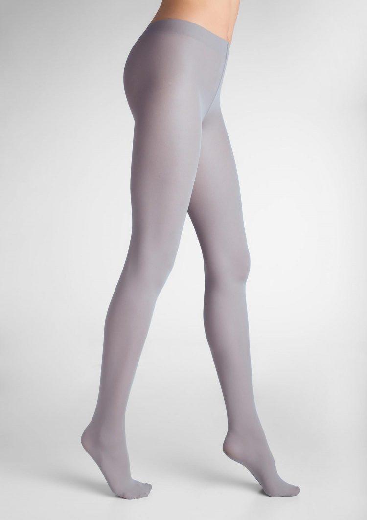 Дамски плътен чорапогащник в светло сив цвят Marilyn Tonic 40