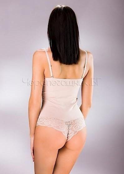 Дамско памучно боди с тънки презрамки бразилиана Sia 355