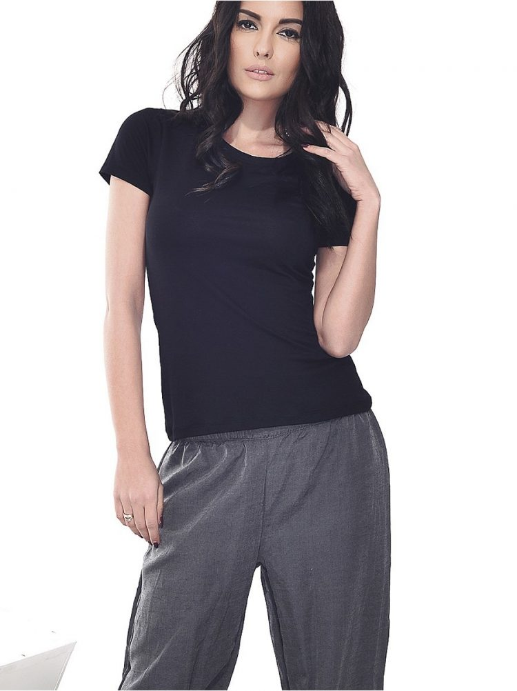 Дамско памучно долнище на пижама New Silhouette 5717