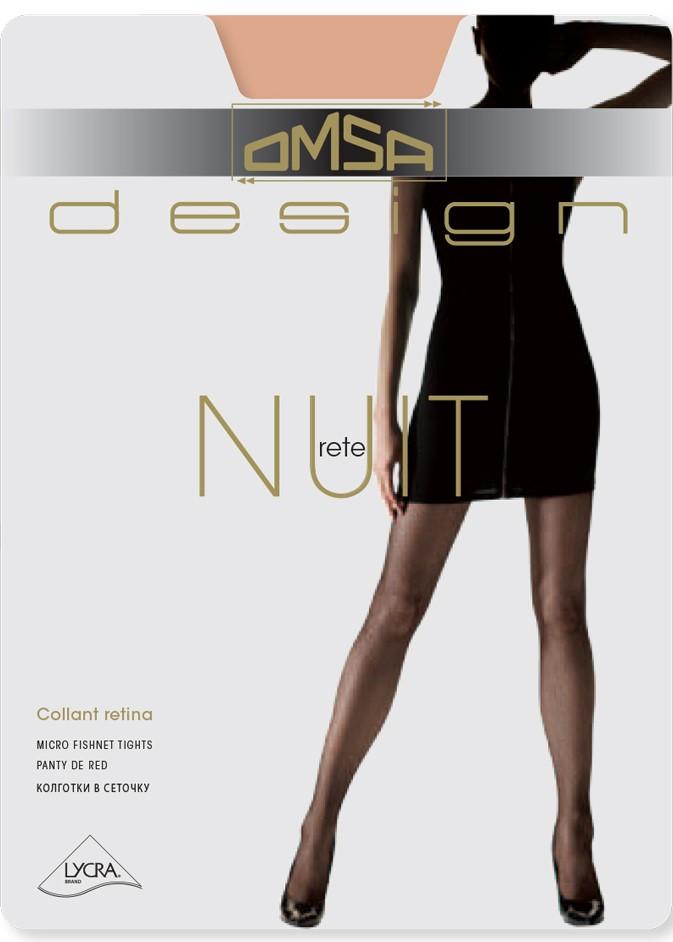 Луксозен чорапогащник мрежа Omsa Nuit