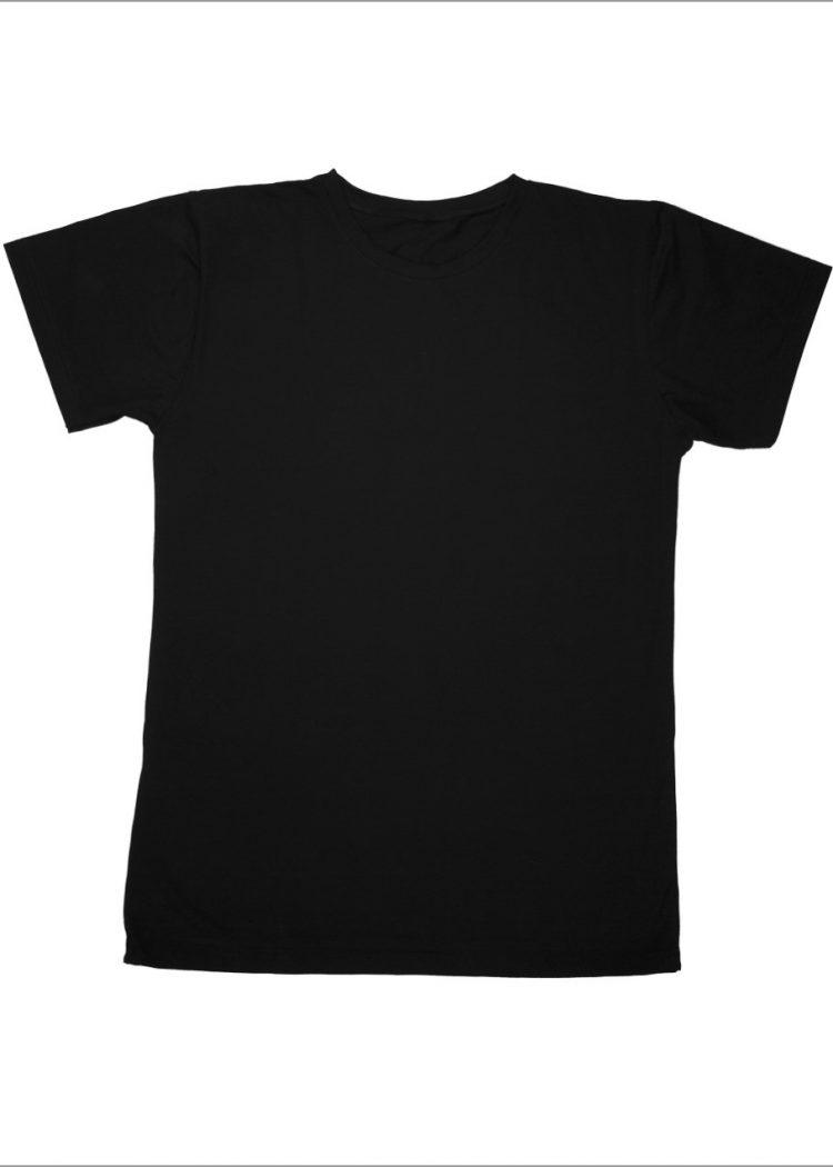 Луксозна мъжка тениска къс ръкав с обло деколте New Silhouette 6781