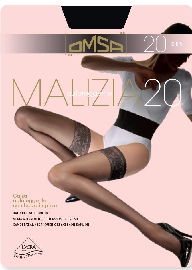 Силиконови чорапи с ликра Omsa Malizia 20 Den