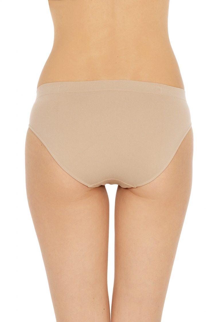 Безшевни дамски бикини с висока талия Pompea Slip Donna