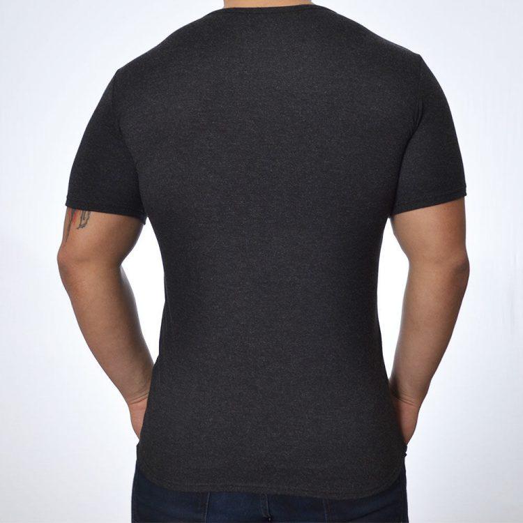 Мъжка вълнена тениска с къс ръкав Tyapti 603