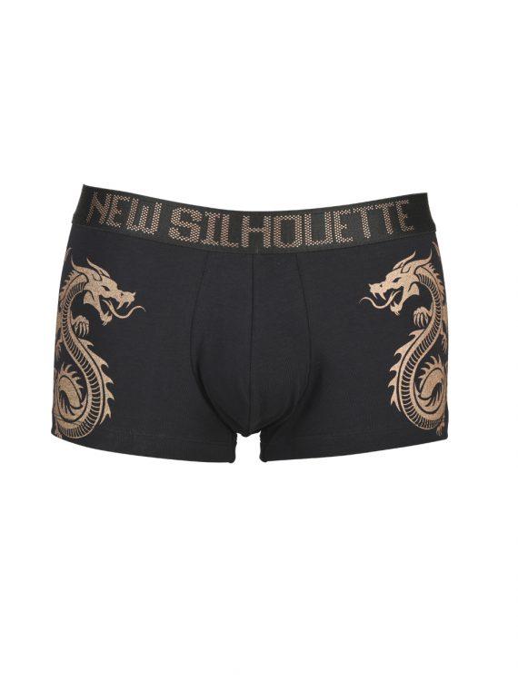 Мъжки боксерки от памук с дракон New Silhouette 6794